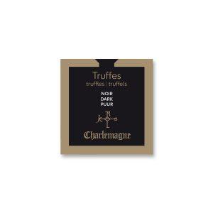 Truffles-peel coated